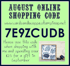Hostess Code for your August Stampin' Up! Shopping