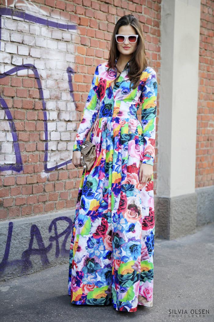 Floral Jil Sander Dress