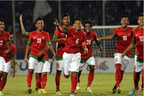 Screenshot 1 Indonesia vs Thailand 3 1: Hasil Piala AFF U 19 2013
