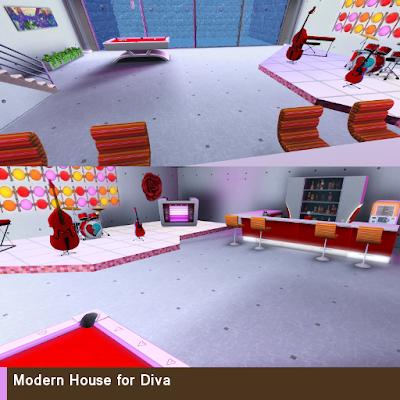 Modern House for Diva 5