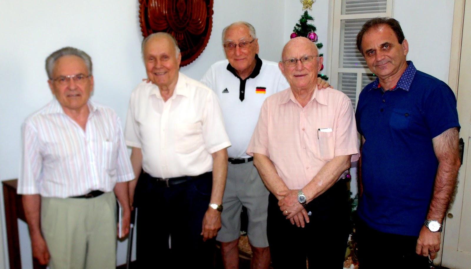Airton Engster dos Santos com Mestres do IHGVT
