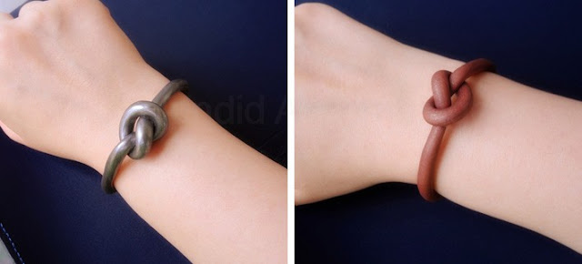 DIY Celine Inspired Knot Bracelet
