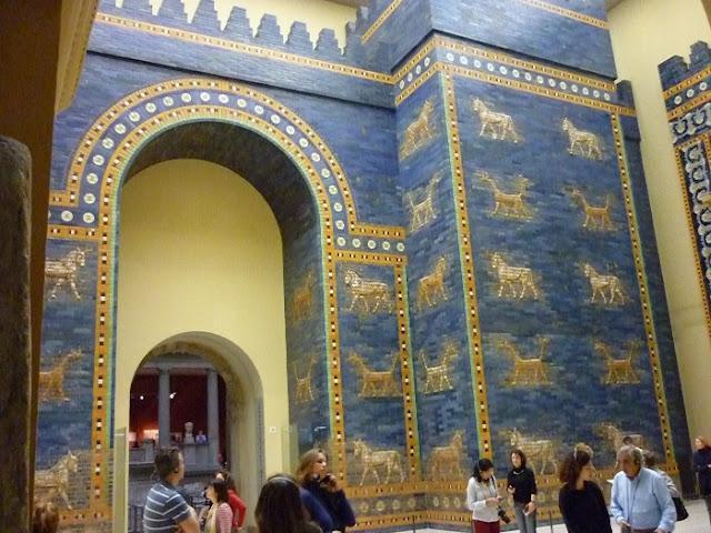 visita al Pergamon museum