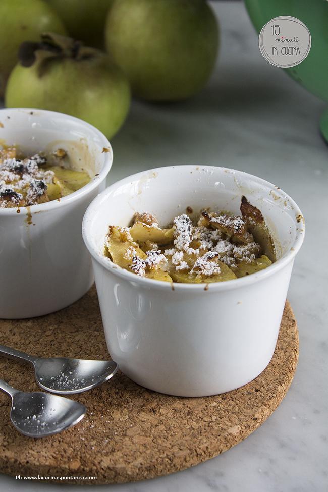 15 minuti in cucina: tortino di mele al forno