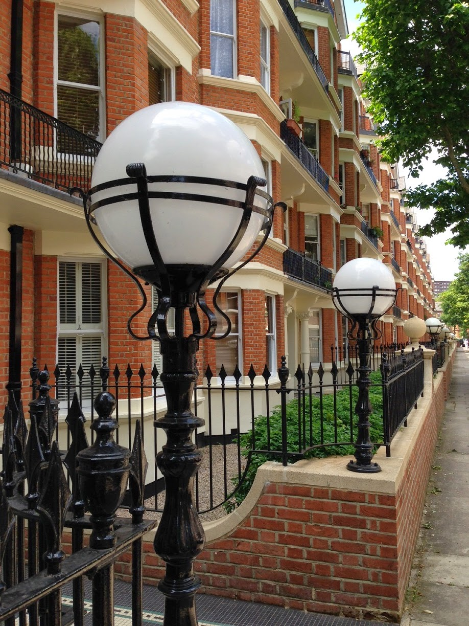 Street lamps, Maida Vale, London W9