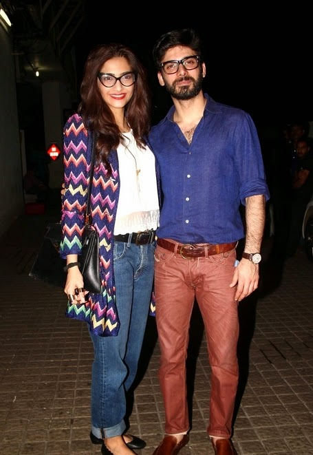Sonam, Fawad & Others celebs at 'Khoobsurat' Special Screening at PVR