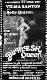 """Burlesk Queen"":  Vilma Becomes a Certified Dramatic Actress"