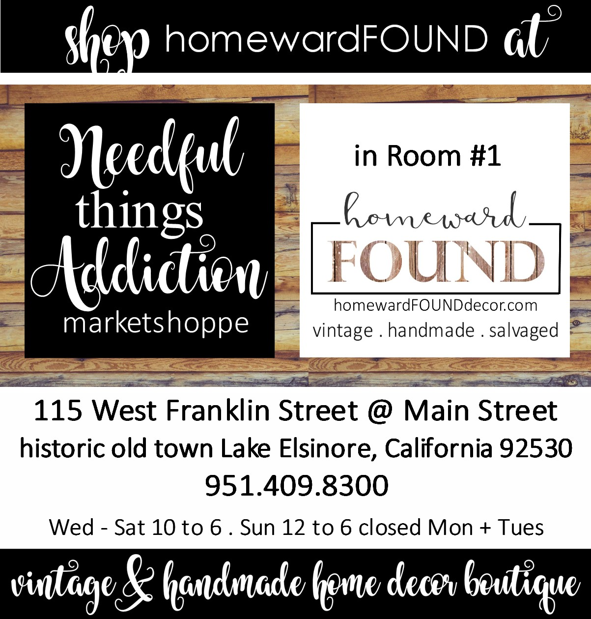 visit my homewardFOUND shop!