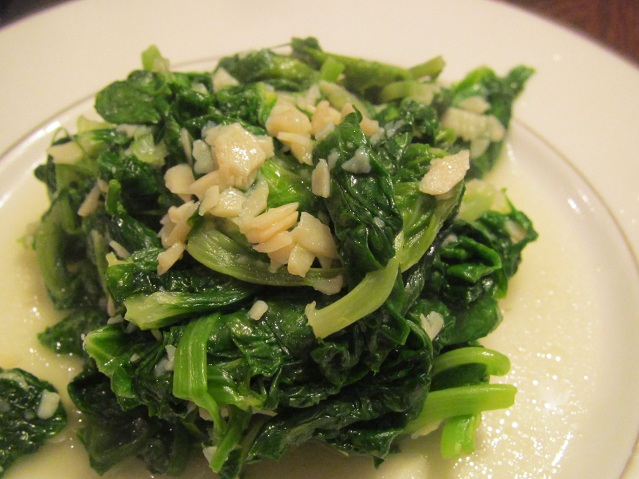 Simple Snow Pea Leaves and Garlic