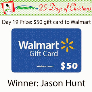 Banners.com 25 Days of Christmas Giveaway - Day 19 Winner