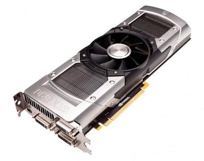 Nvidia GTX 690 dual GPU