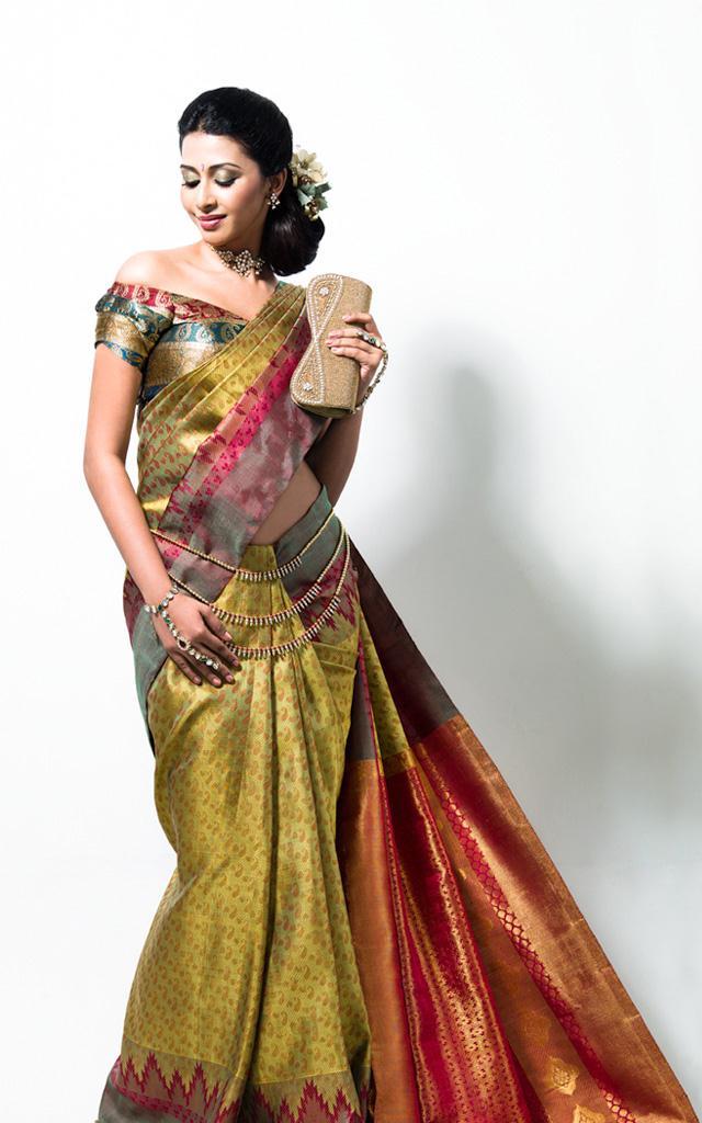 gayathri traditional saree photo shoot
