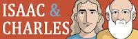 Tirinhas dos personagens Isaac e Charles