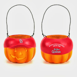 St. Louis Cardinals MLB Halloween Pumpkin Bucket