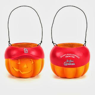 St. Louis Cardinals MLB Halloween Pumpkin Bucket