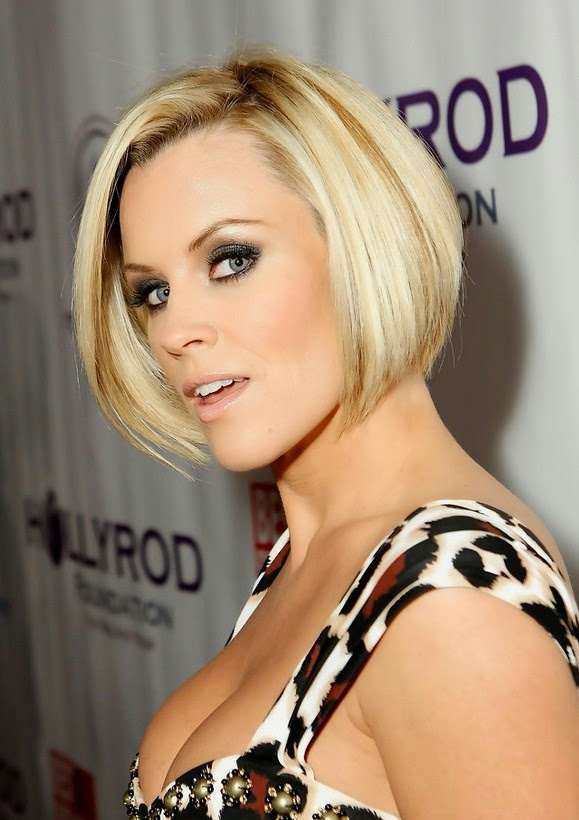 Celebrity Stacked Bob Hairstyle