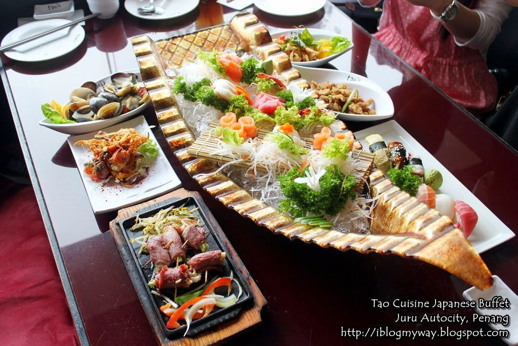 Tao cuisine japanese buffet juru autocity penang i for Asian cuisine buffet