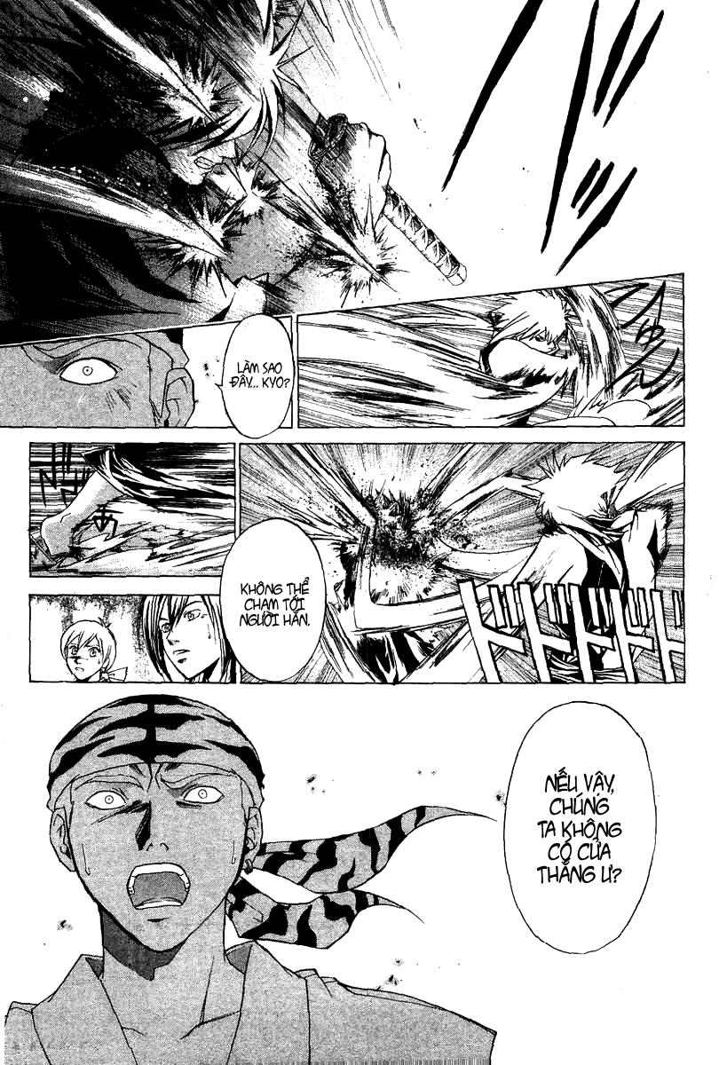 Mắt Quỷ Kyo-Samurai Deeper Kyo chap 91 Trang 19