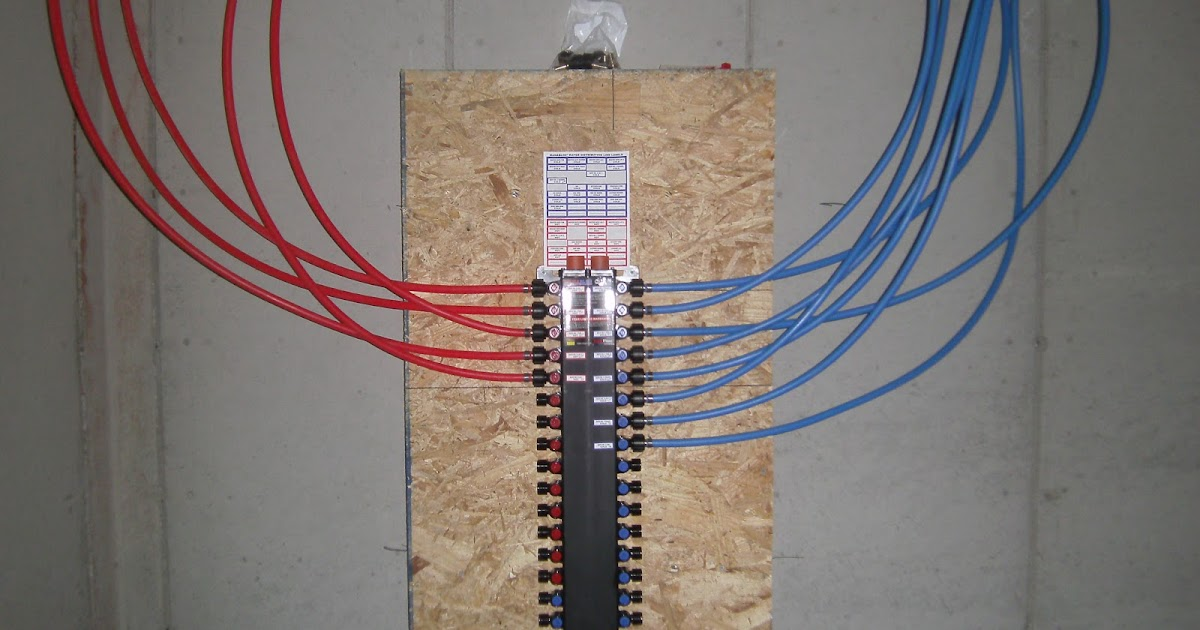 Live on a mission pex plumbing system for Using pex for drain lines