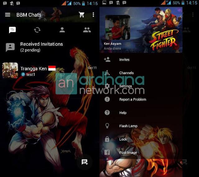 Preview BBM Ryu Ken V2.10.0.31