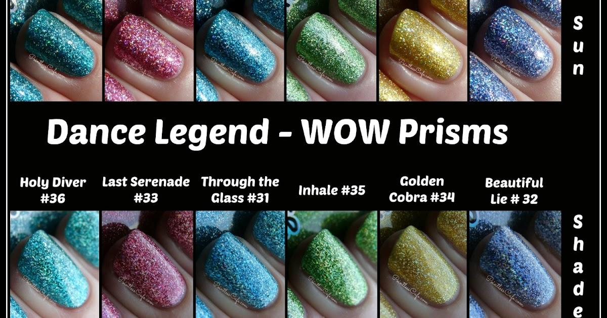 Dance Legend WOW Prisms: 31 through 36 | Pointless Cafe