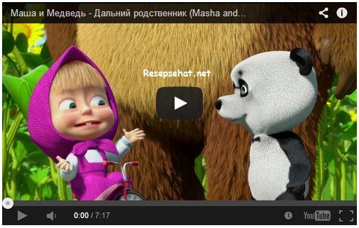Video Masha And The Bear Paling lucu