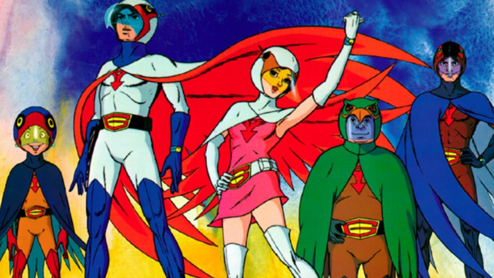 G Force Cartoon Characters : Image gallery g force anime