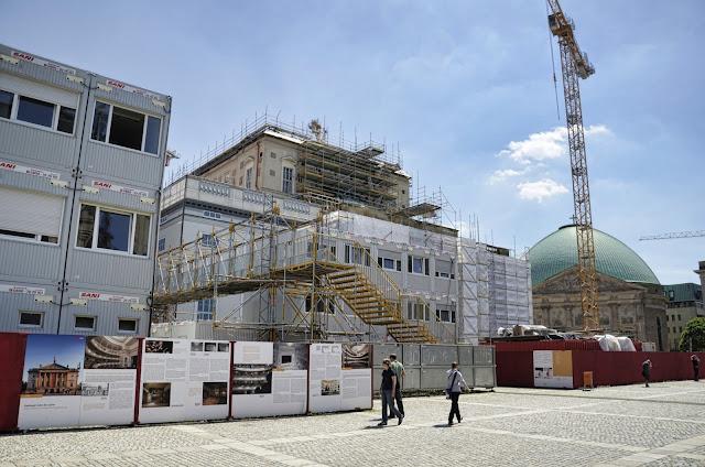 Baustelle Staatsoper, Bebelplatz 1, 10117 Berlin, 17.06.2013