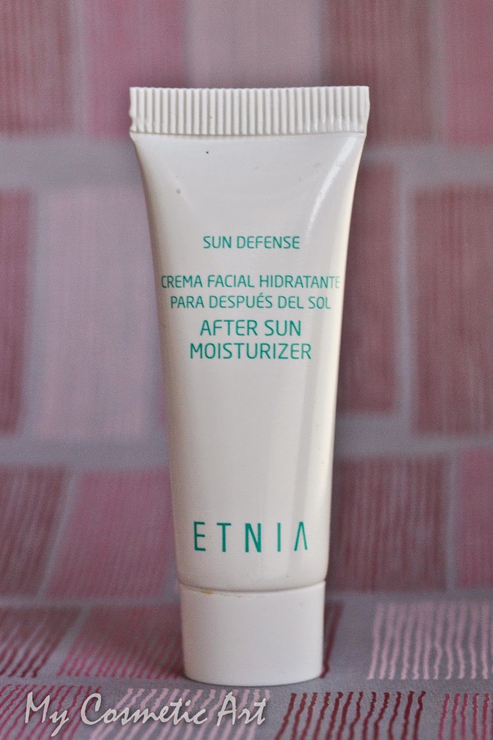 After Sun para la cara de Etnia Cosmetics: otro imprescindible de verano.
