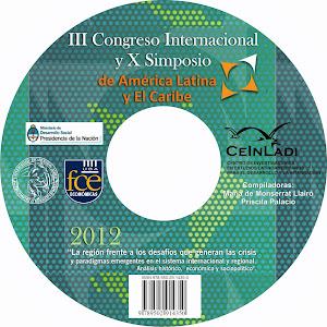 CD III CONGRESO Y X SIMPOSIO CEINLADI