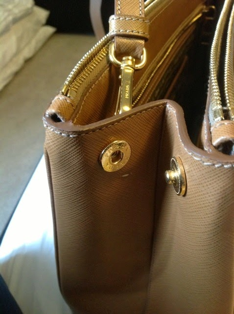 prada leather wallet on a chain - Are Your Designer Handbags Authentic?