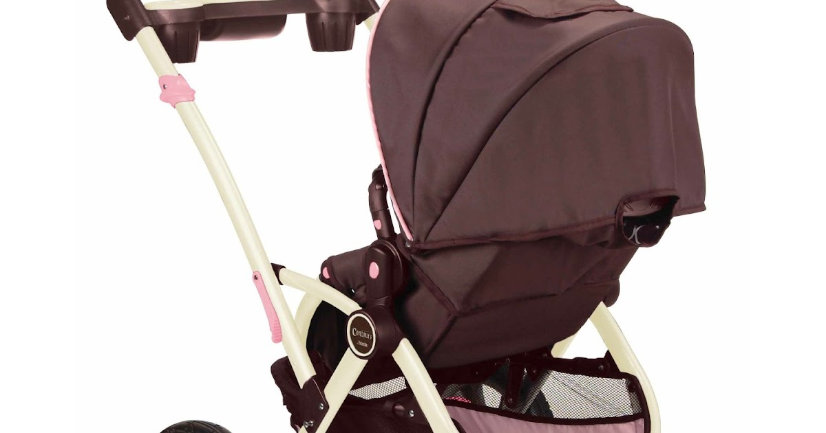Bubu Baby Kids Store Contours Options 3 Wheel Stroller Blush