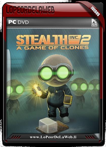 Stealth Inc 2: A Game of Clones Multilenguaje (Castellano)
