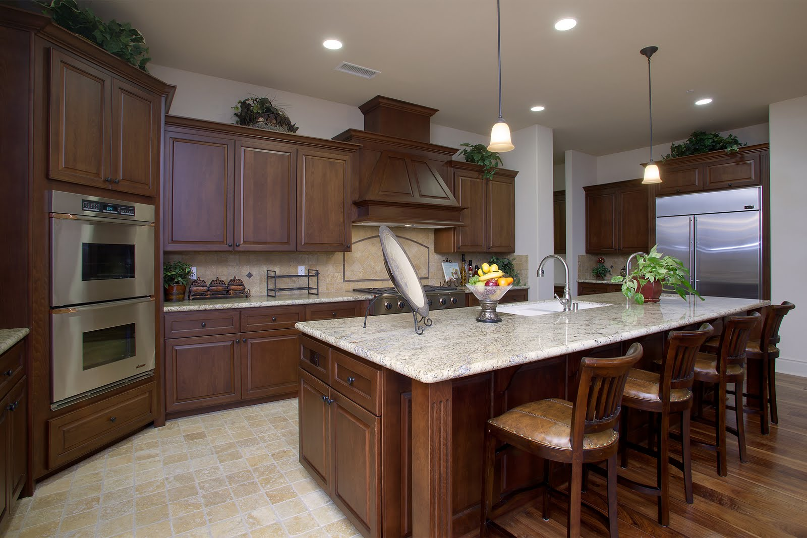 Kitchen model homes kitchen design photos 2015 for Model kitchen