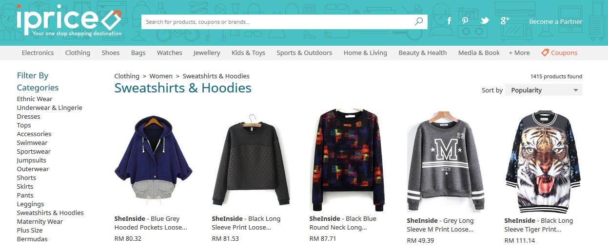 Malaysia Fashion Online Shopping Website