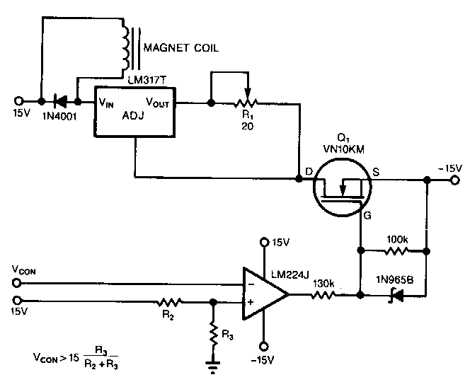 regulator current source circuit diagram