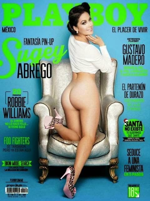 Sugey Abrego en Play Boy 2013
