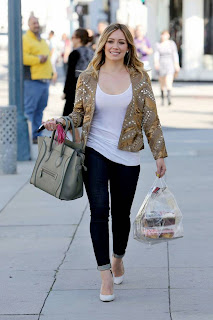 Hilary Duff Shopping