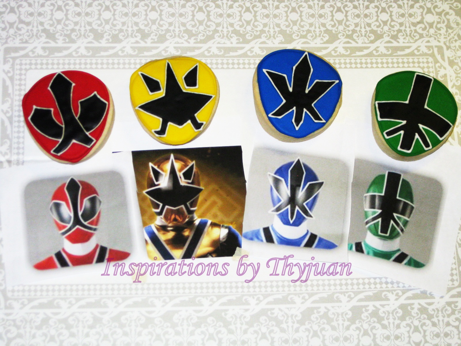 Inspirations by Thyjuan LLC.: Power Rangers Cookies