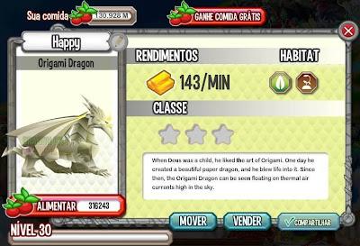 Dragão Origami