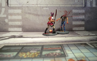 Zombicide Walker Zombie Painted Goth Amy