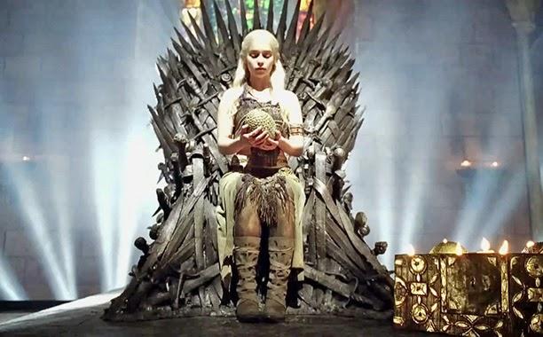 Dany Trono de hierro - Juego de Tronos en los siete reinos