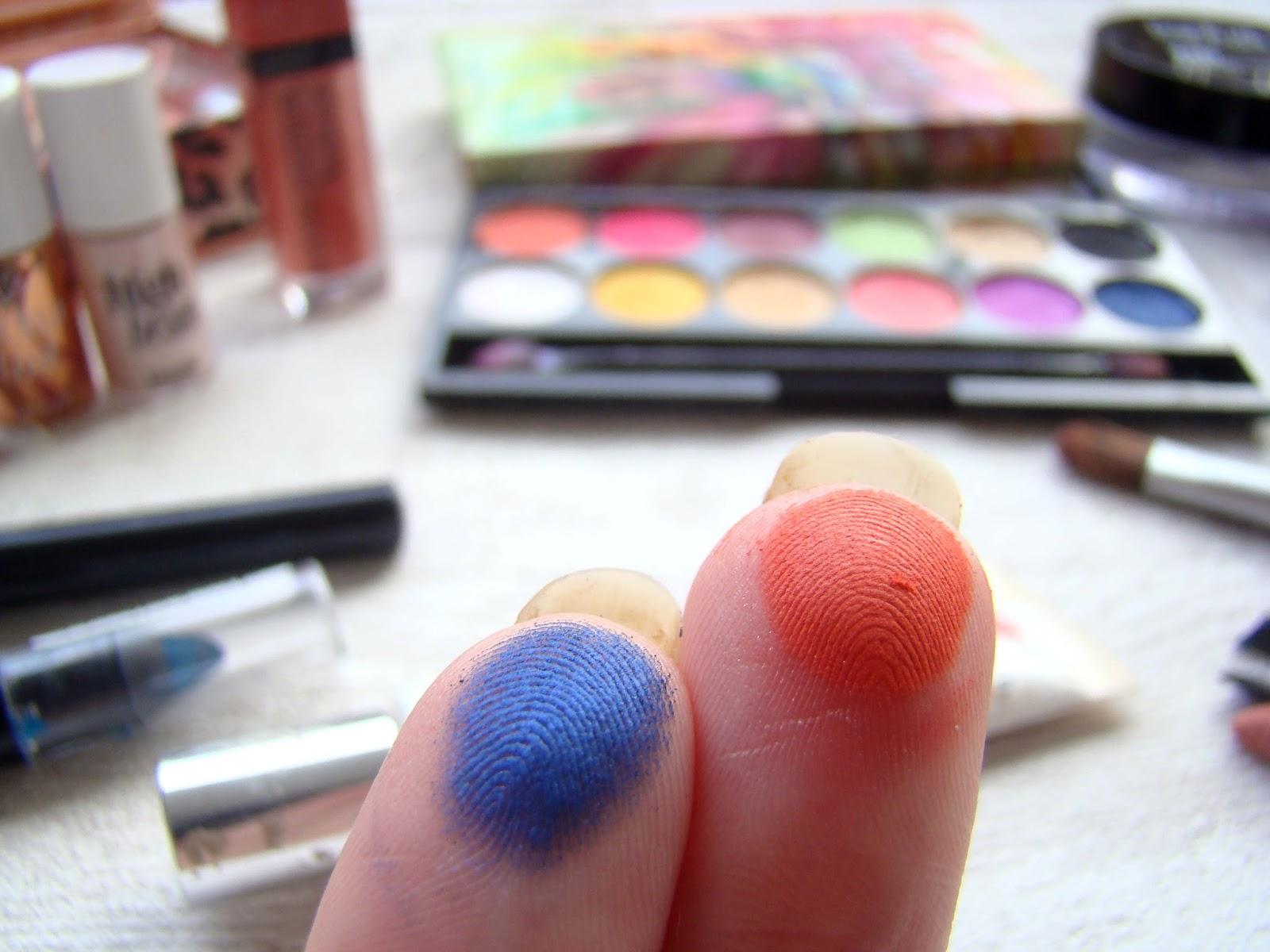 Maquillage Orange et Bleu avec la palette Rio Rio