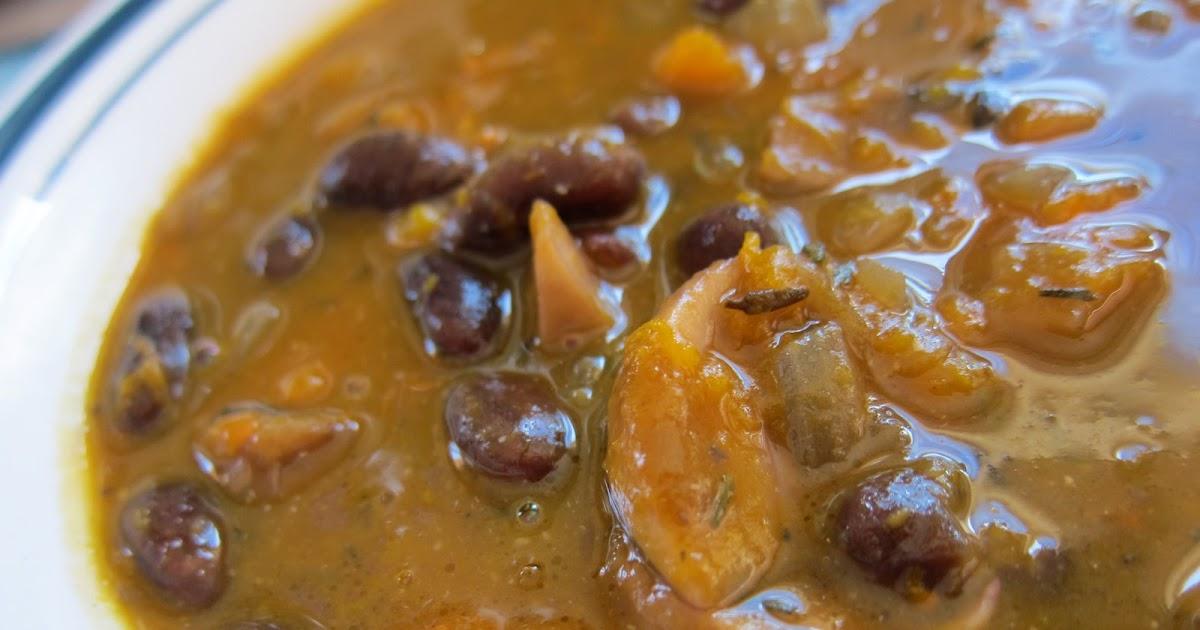WholeFoodVegan: Roasted Pumpkin Miso Soup