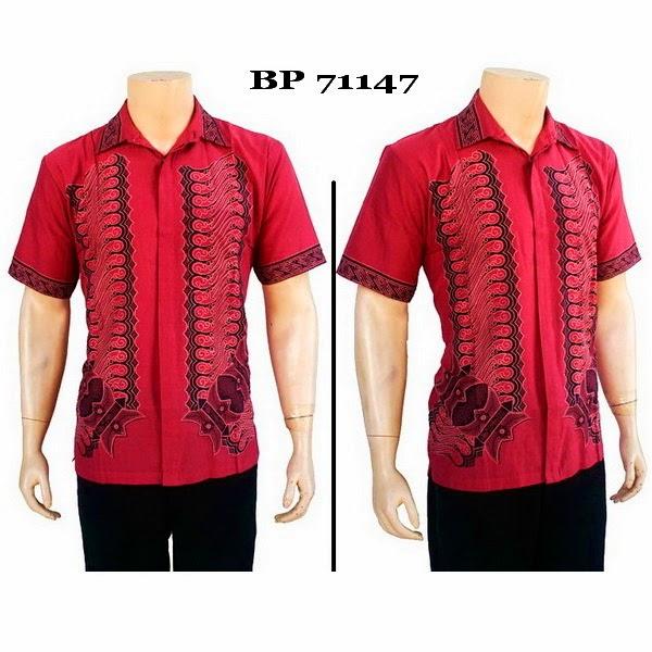 Baju Hem Batik Pria BP71147