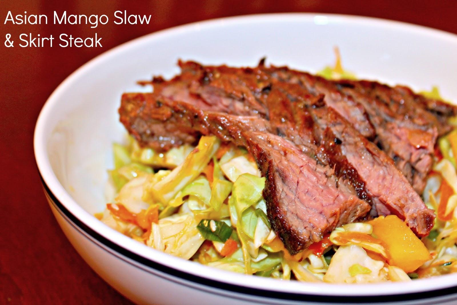 Clear Eyes. Full Hearts. : Asian Mango Slaw & Grilled ...