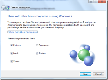 ShareHomeGroup thumb Berbagi File Antar PC Menggunakan HomeGroup di Windows 7