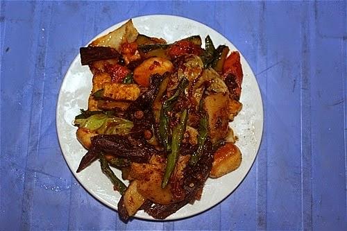 rau trộn đặc sản hấp dẫn Hà Giang