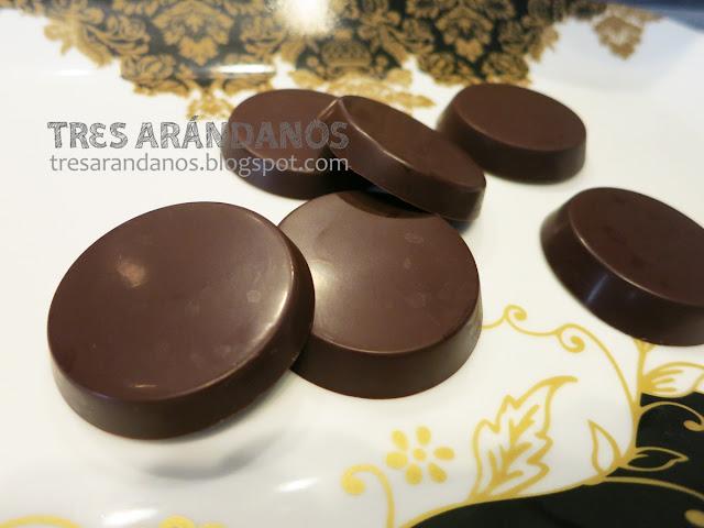 como hacer monedas de chocolate caseras