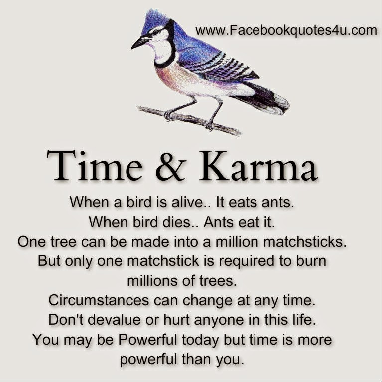 Quotes About Friendship And Karma : Best karma quotes on facebook quotesgram